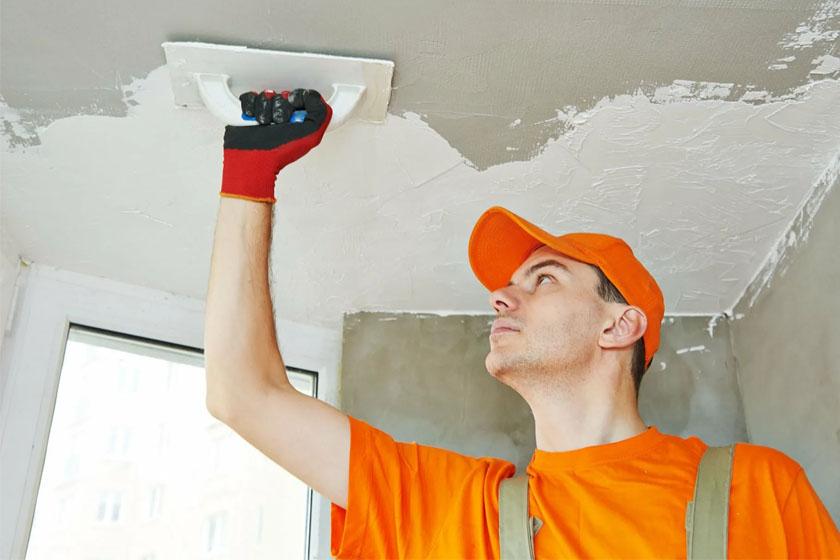 Что делать, если на потолок требуется нанести КНАУФ-Ротбанд слоем более 15мм?